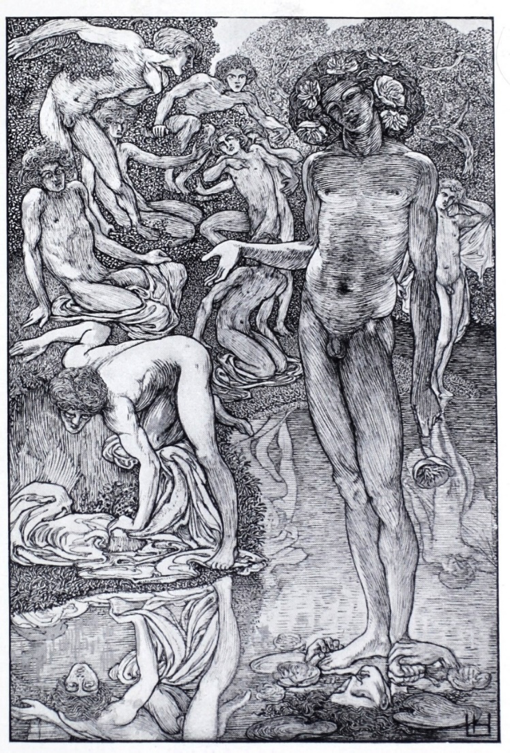 Figure 2 – Laurence Housman's Death and the Bather