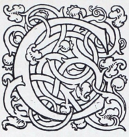 "Figure – 3 Decorative initial for Yeats's ""Costello the Proud""                        (2)"