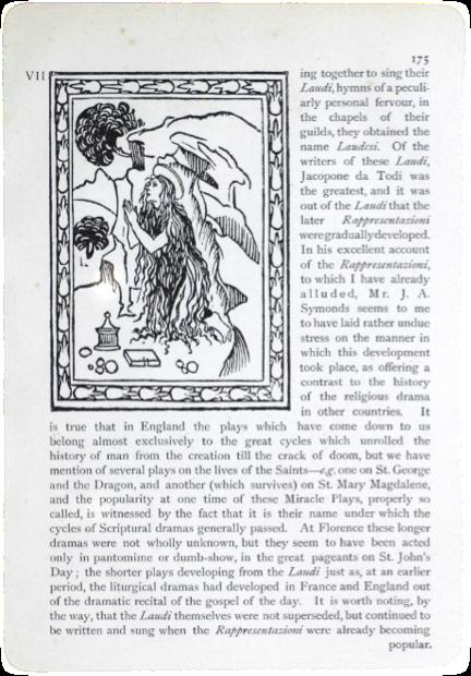 Figure 8 – Example of Florentine Rappresentazioni