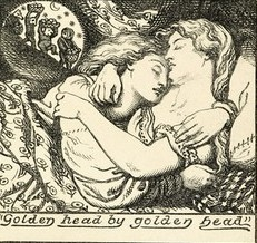 Illustration by Dante Gabriel Rossetti.