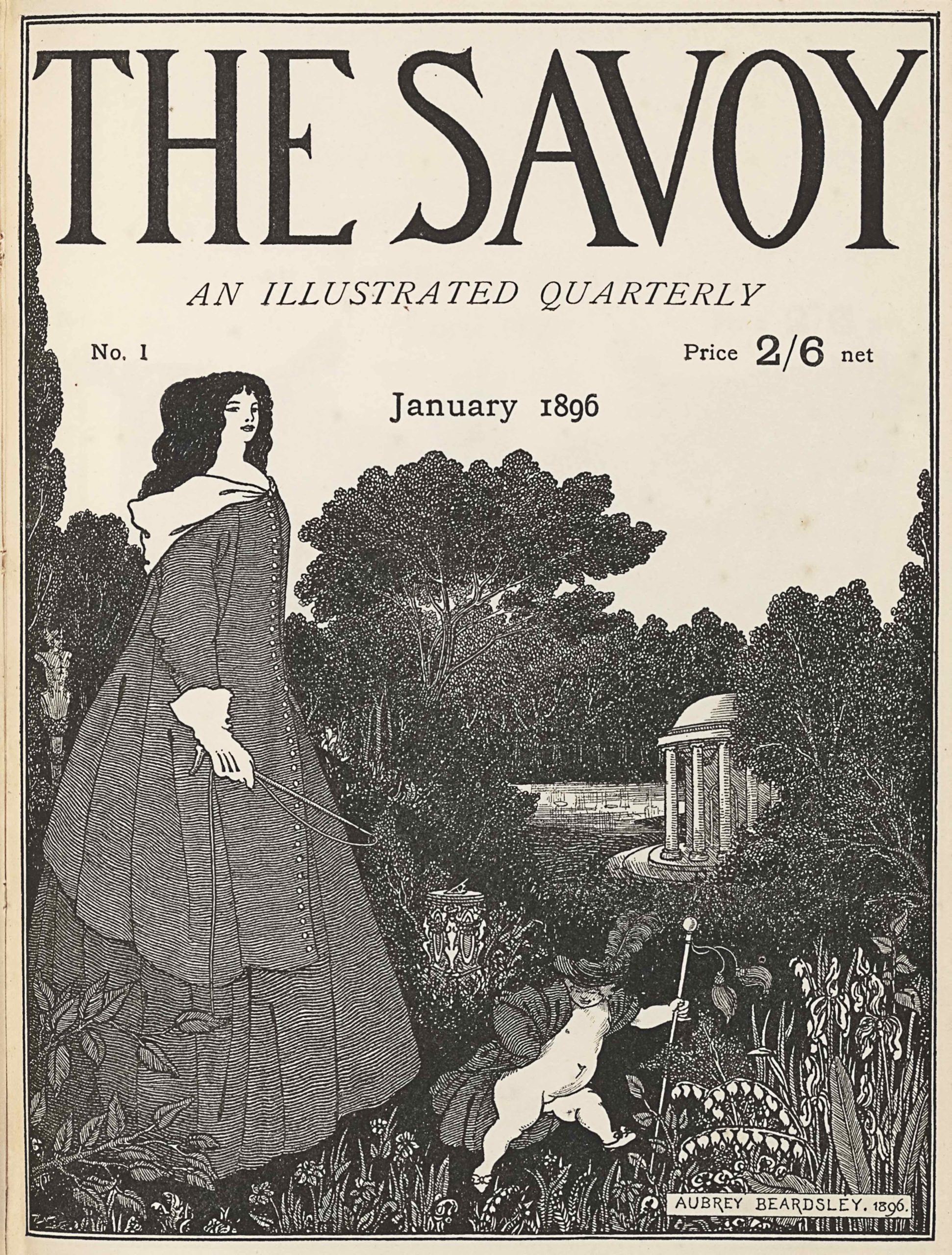 SAVOYV1_beardsley_cover