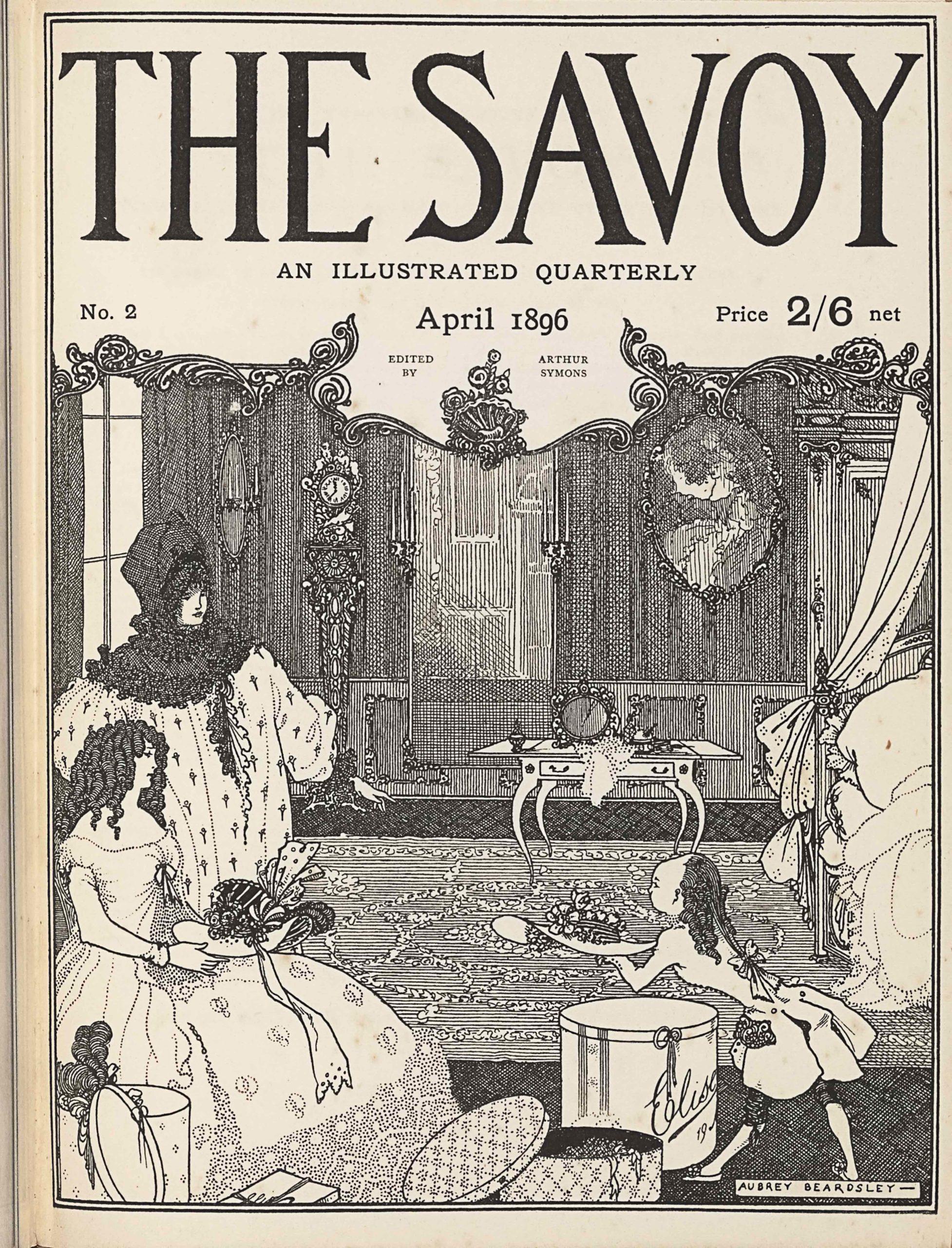SAVOYV2_beardsley_cover