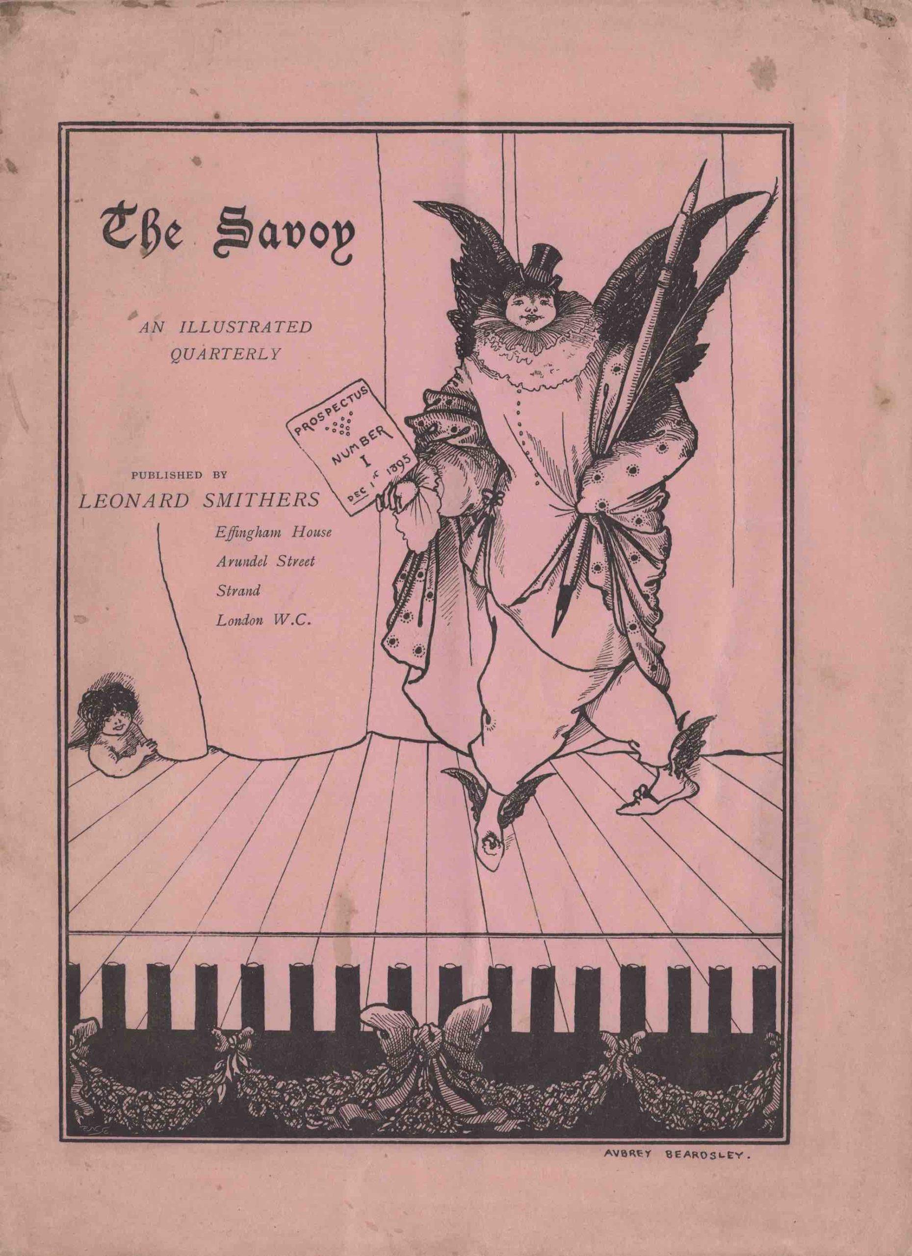 Savoy prospectus cover
