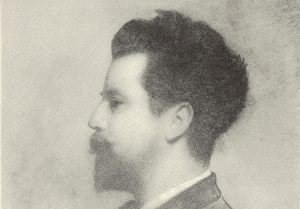 Portrait of William Sharp after a pastel drawing by Charles Ross