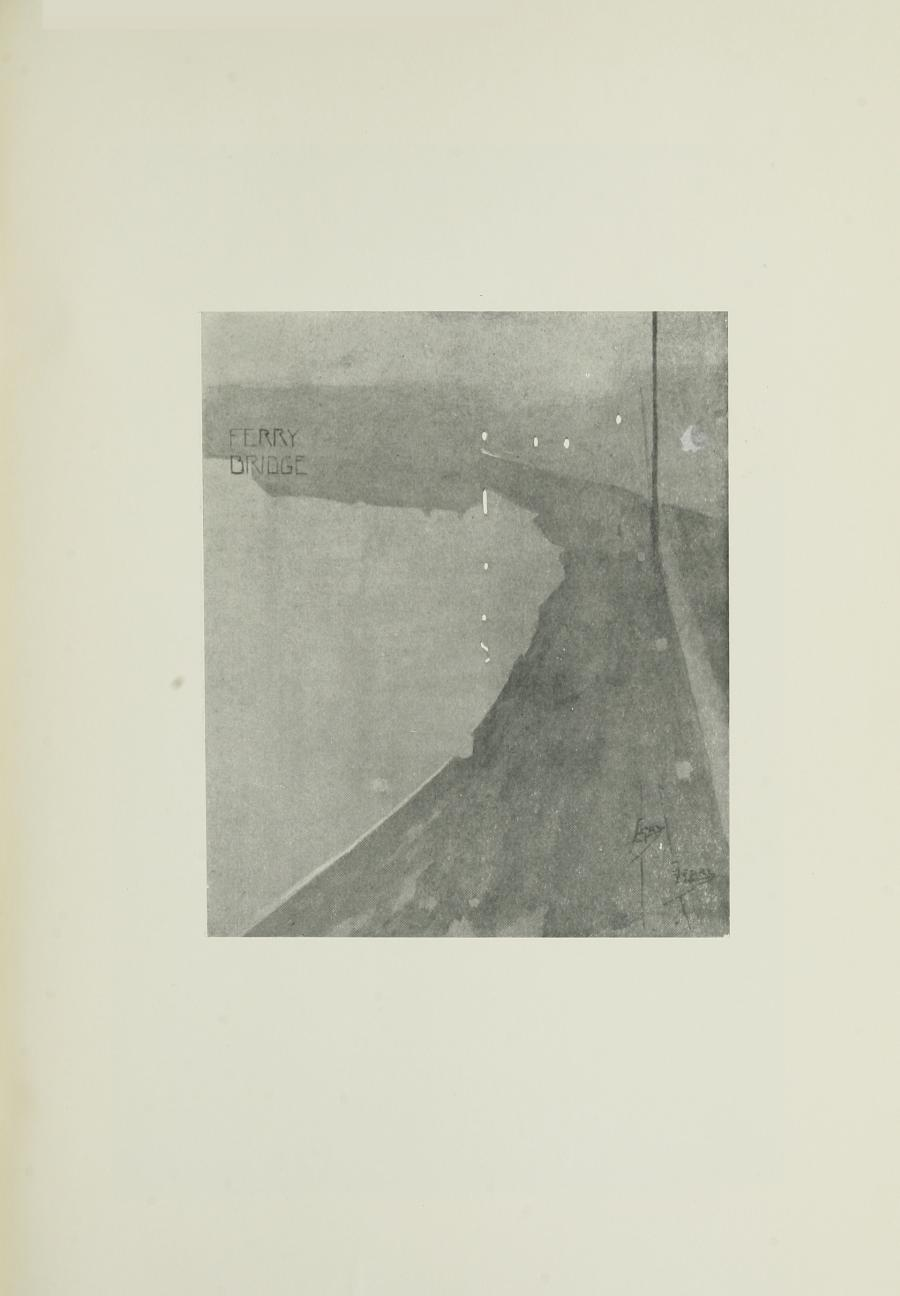 Image is of a ferry bridge The image name FERRY BRIDGE is in the upper left hand corner