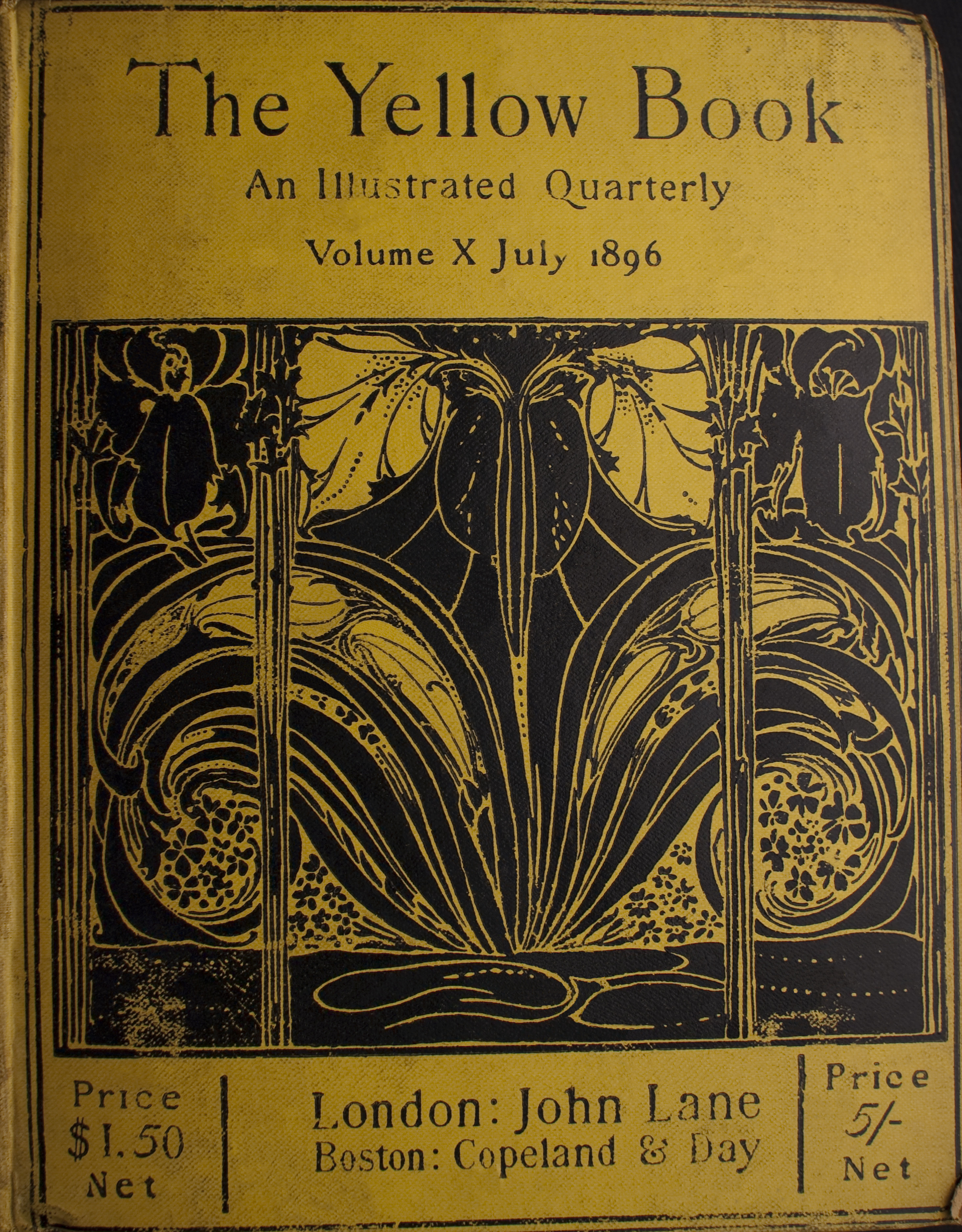Cover of The Yellow Book Volume 10