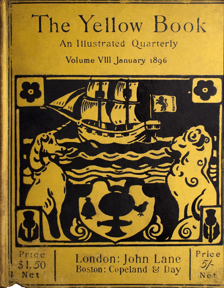 Cover of The Yellow Book Volume 8
