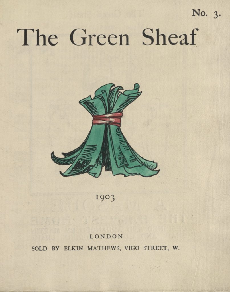 Cover of The Green Sheaf Volume 3