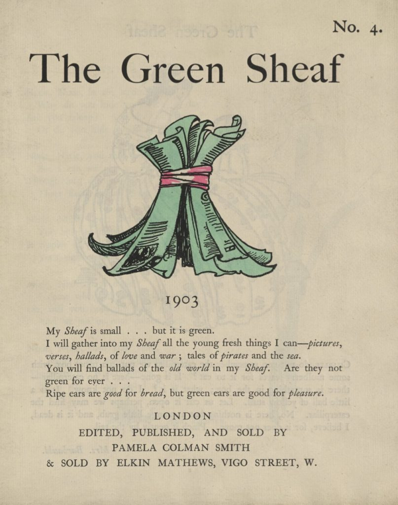 Cover of The Green Sheaf Volume 4