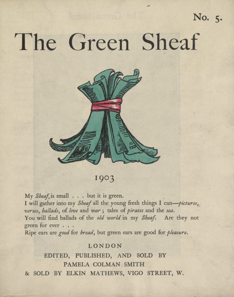 Cover of The Green Sheaf Volume 5