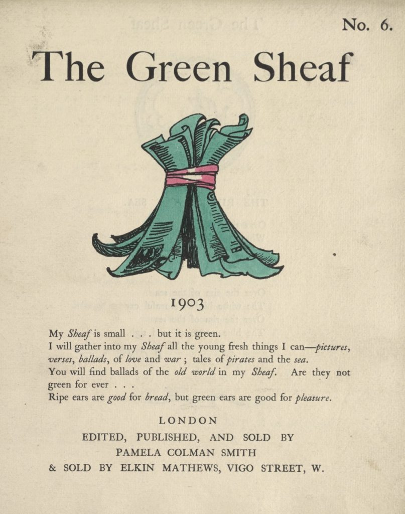 Cover of The Green Sheaf Volume 6