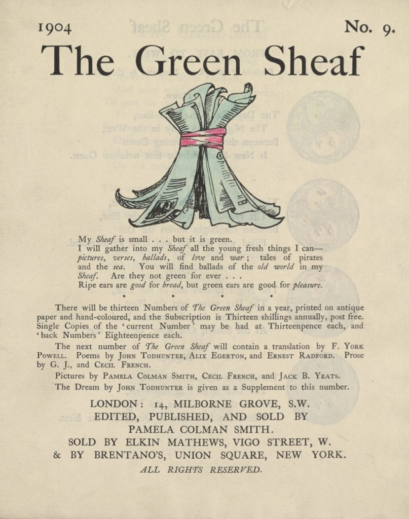 Cover of The Green Sheaf Volume 9