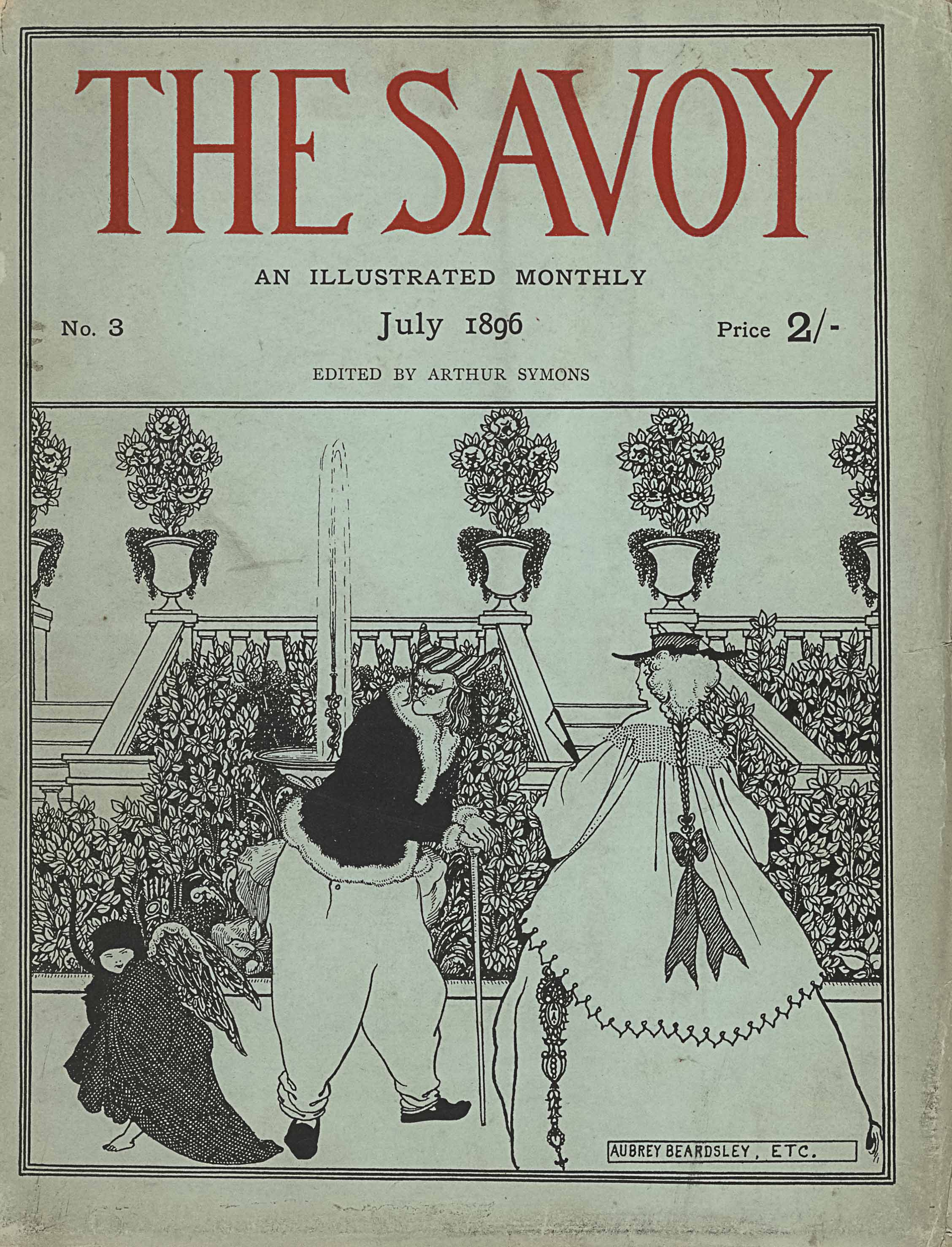 Cover of The Savoy Volume 3