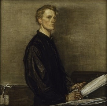 Charles Haslewood Shannon, self-portrait, 1897, © National Portrait Gallery, London